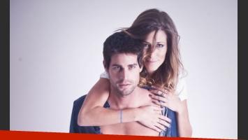Florencia y Juan Cruz, de GH 2012, posaron para Ciudad.com. (Foto gentileza: Flavio Giusti)