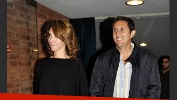 María Carámbula y Juan Pablo Varsky fueron a ver El hijo de puta del sombrero. (Foto: Jennifer Rubio)