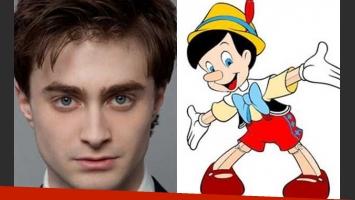 Daniel Radcliffe quiere ser Pinocho. (Fotos: Web)