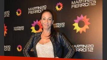 Ernestina Pais en los Martín Fierro 2012.