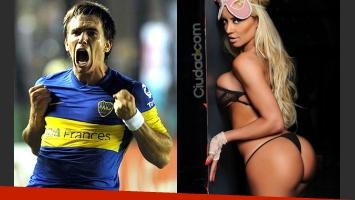 Pablo Mouche y Claudia Ciardone: ¿nuevo amor botinero? (Fotos: Web y Ciudad.com)