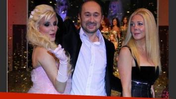 Charlotte, Cosano y Nannis, en tiempos más felices (Foto: Web).