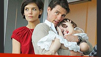 El divorcio de Tom Cruise y Katie Holmes: peleas por la custodia de su hija. (Foto: Web)