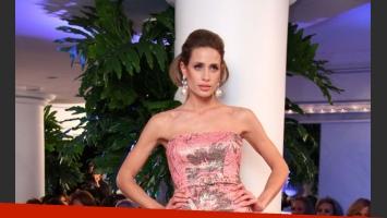 Ivana Saccani fue una de las principales modelos del desfile (Foto: Prensa).