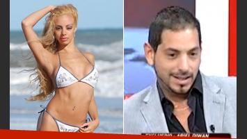 Gisela Bernal confirmó su embarazo del productor Ariel Diwan. (Fotos: Web e Intrusos)