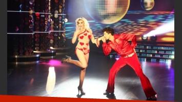 Charlotte Caniggia en su debut en ShowMatch. (Foto: Ideas del Sur)