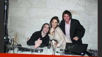 María Fernanda Callejón festejó su cumpleaños con sus compañeros de Dulce amor. (Foto: Prensa Nicolás Di Raimondo)