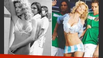 """El recuerdo más preciado y """"sexy"""" de Nicole Neumann. (Foto: Revista Hombre)"""