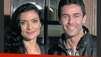 Ana María Orozco y Mariano Martínez, protagonista dela nueva ficción. (Foto: Clarín)