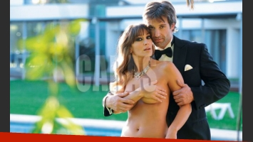 Segundo Cernadas y Sol Estevanez en una sensual producción. (Foto: Revista Caras)