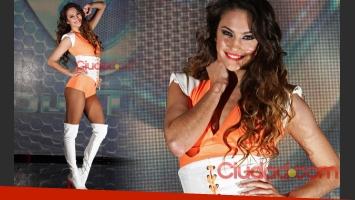 Mariana Palleiro, en la producción de fotos exclusiva para Ciudad.com. (Foto: gentileza Ideas del Sur)