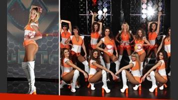 Alexandra Larsson es la bailarina más sexy de ShowMatch para los usuarios de Ciudad.com