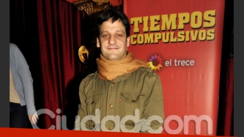 Rodrigo de la Serna en Tiempos Compulsivos. (Foto: Jennifer Rubio)