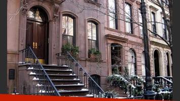 La fachada del departamento de Carrie Bradshaw. (Foto: Web)
