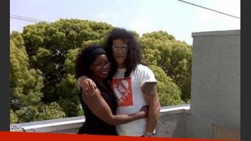 Slash y su mamá Ola Hudson. (Foto: Web)