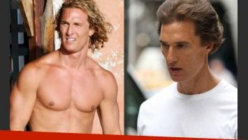 El impresionante cambio de look de Matthew McConaughey. (Foto: Web)