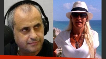 Jorge Rial y Silvia D Auro, sin tregua. (Fotos: Web)