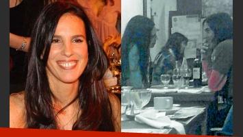 Paula y su novio habían sido fotografiados en julio, cenando en Pinamar. (Foto: archivo revista Semanario)