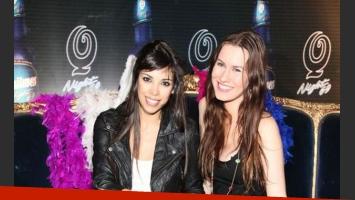 María Paz Delgado y Nina Francisca, bailarinas de ShowMatch y unos vestidos demasiado cortitos. ¡Ups!