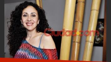Sabrina Omedo en una charla íntima con Ciudad.com (Foto: Jennifer Rubio).