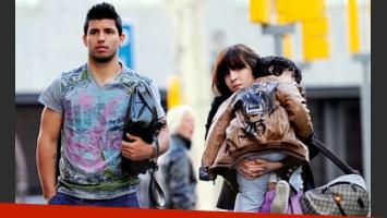 Giannina Maradona y el Kun Agüero, ¿en una nueva crisis de pareja? (Foto: Web)