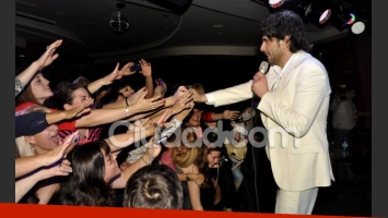 Juan Darthés enloqueció a sus fans (Foto: Jennifer Rubio).