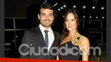 Más de Paula Cháves y Peter Alfonso en el casamiento de Nazarena Vélez. (Foto: Jennifer Rubio)