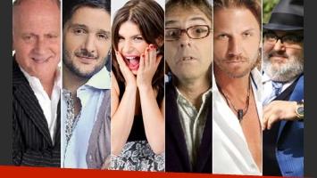 Todos los nominados a los Martín Fierro de cable. (Foto: Web)