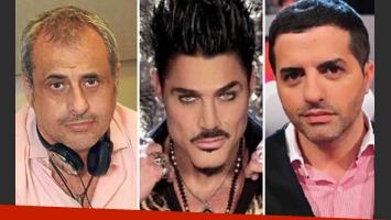 Escandalosos tweets de Jorge Rial, Ricardo Fort y Angel De Brito la ligó de rebote. (Foto: Web)