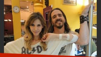 El tatuaje de Guillermina Valdés (Foto: @American_Tattoo)