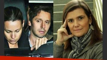 Pampita y Vicuña recibieron la visita de Pilar Sordo en su hogar (Foto: Web).