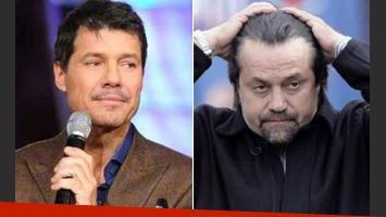Marcelo Tinelli y Ricardo Caruso Lombardi: se verán en Tribunales. (Fotos: Ideas del Sur y Web)