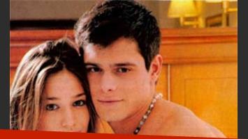 Victoria Irouleguy y Lucas Velasco, juntos. (Foto: revista Paparazzi)