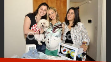 El baby shower de Gisela Bernal. (Foto: Jennifer Rubio)