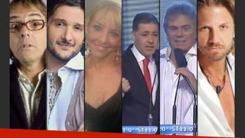 Algunos de los ganadores del Martín Fierro de cable. (Foto: Web)