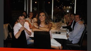 Florencia de la V presentó al elenco de Cirugía para dos.