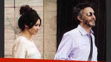 Fito Páez y Julia Mengolini, ¿el fin del romance? (Foto: Revista Pronto).
