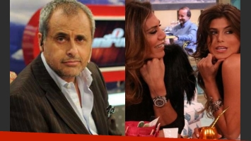 Jorge Rial habló del conflicto entre Loly y Flor de la V (Fotos: Web).