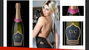 CCC, el champagne de Charlotte Caniggia.