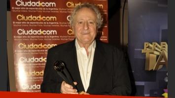 Roberto Carnagui, mejor actor de reparto en ficción diaria (Foto: Jennifer Rubio).