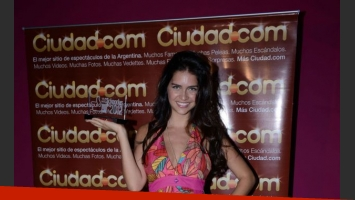 Zaira Nara en Los Más Clickeados 2012. (Foto: Maxi Didari-Ciudad.com)