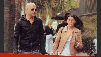 El Pelado López se mostró junto a su novia y negó separación: