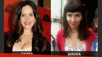 Natalia Oreiro se renovó: ¿cómo te gusta más? (Fotos: Ciudad.com y Twitter).