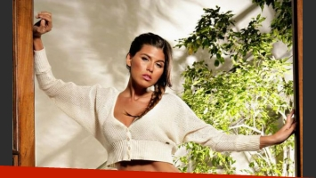 Loly Antoniale, súper sensual en su más reciente campaña (Foto: Natubel).
