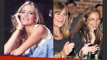 Sonsoles Rey habló como nunca de la relación de su mamá y Sandra (Fotos: Para Ti y Perfil.com).