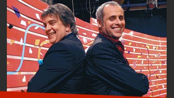 Luis Ventura y Jorge Rial, una dupla exitosa que corrió peligro (Foto: Web).