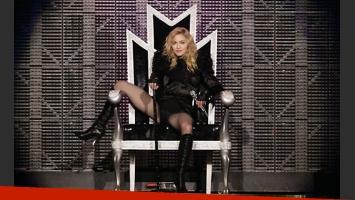 Madonna se hizo esperar en River. (Foto: archivo Web)