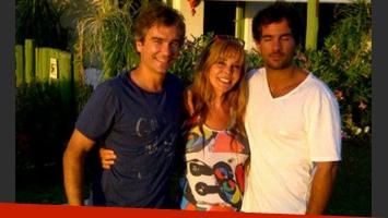 Graciela Alfano y un cumple muy familiar junto a sus hijos (Foto: @alfanograce).
