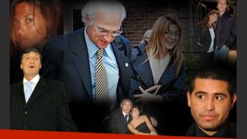 Bianchi y su esposa Margarita tendrán la boda de Brenda con Eduardo Domínguez. ¿Irán Riquelme y Falcioni? (Retoque: Darío Pulli)