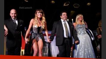 El debut de Los Grimaldi. (Foto: https://twitter.com/DeiCastro15)